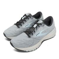 Brooks Ravenna 11 Grey Blue Support Speed Women Road Running Shoes 1203181B-413