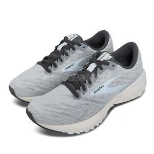 Brooks Ravenna 11 Grey Blue Support Speed Women Road Running Shoes 1203181B-413