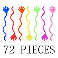 "72 Count Sticky Hands Vinyl Glitter 1 1/4"" Perfect Party Favors Birthday Gifts"