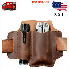 Xxl Edc Leather Organizer Belt Loop, for Multitool / 5 Inch Knife and 1 Inch