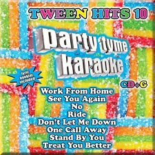 PARTY TYME KARAOKE CD - TWEEN HITS 10 [VARIOUS ARTISTS](2016) - NEW UNOPENED
