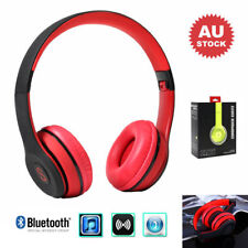 Heavy Bass 3D Stereo Sound Bluetooth 4.2 Matte Touch Headphone Headset TF/FM/MIC