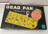 Rare Vintage Dead Pan The Game of Wits Complete 63 Marbles Old Board Game LOOK