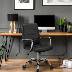 Bürostuhl Schreibtischstuhl Drehstuhl Chefsessel Kunstleder Arbeitshocker