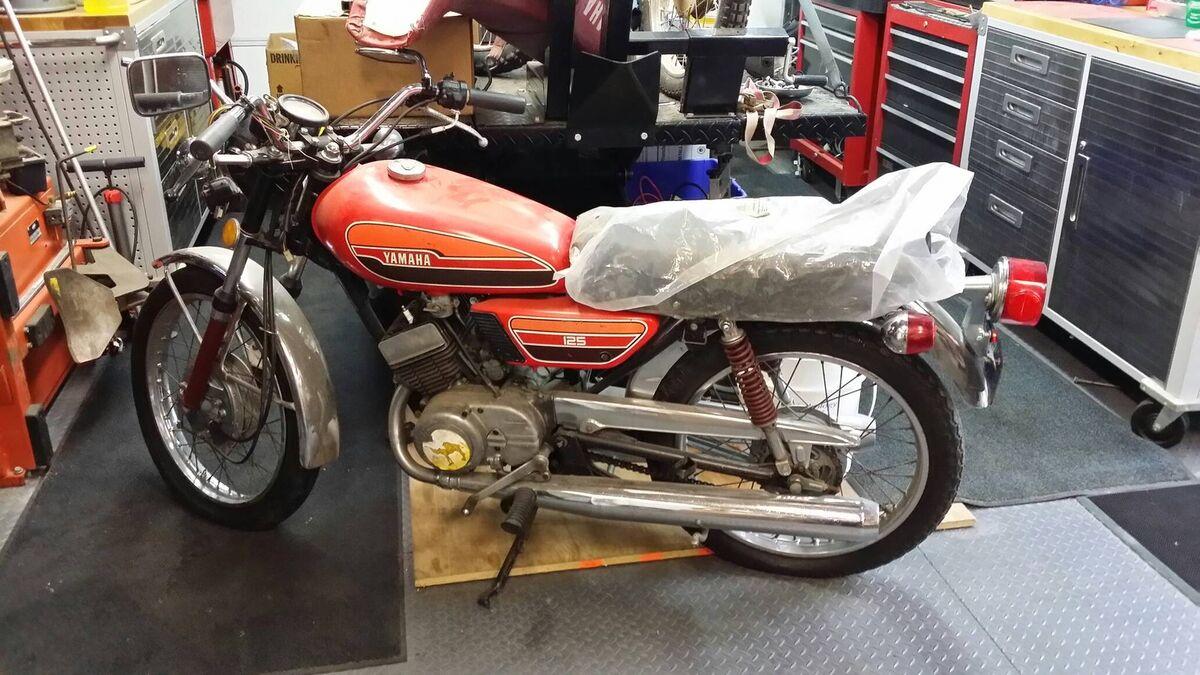 Vintage Moto Parts Barn