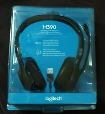 *Brand New* Logitech USB Computer Headset H390 w/Noise-Canceling Mic in hand now