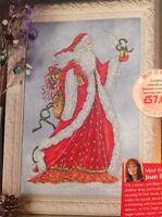 Father Christmas Santa By Joan Elliott Christmas Cross Stitch Chart