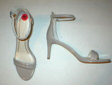 New Womens Kenneth Cole Sandals Heels Beige Nude Dress Work Shoes Patent 10 Open