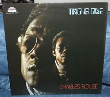 CHARLES ROUSE TWO IS ONE SOUL JAZZ STRATA EAST US OG LP CLEAN!