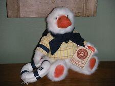 "Boyds Bears Plush 2002 ~8"" Webb Q. Yachtley~ Best Dressed Series"