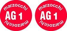 Adesivi ammortizzatore  Marzocchi AG1 inferiore  anni  70