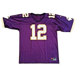 Vintage Nike Daunte Culpepper ROOKIE Minnesota Vikings Jersey #12 (Size - XL)