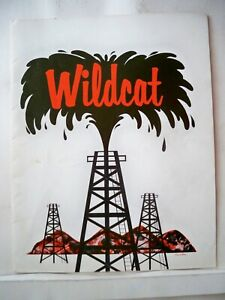 WILDCAT Souvenir Pg MARTHA RAYE / ROBERT GALLAGHER / NORMA DOGGETT Tour 1962