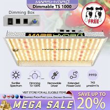 Mars Hydro TS 1000W LED Grow Light Full Spectrum for Indoor Plant Veg Flower HPS