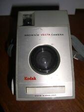Kodak Brownie Vecta Retro 127 Film Camera with case - 60s - lomography / lomo