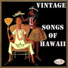 Songs of Hawaii CD Vintage Compilations /F.Mendelsshon, Roy Smeck, Danny Stewart