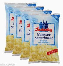 4x500g Leuchtenberg Neusser Sauerkraut, Das Original, Herzhaft im Geschmack