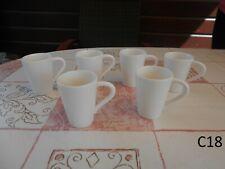 6 Magnifiques Tasses à Moka Villeroy et Boch