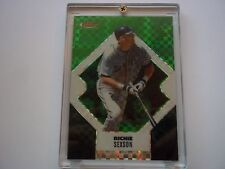 Richie sexson 2006 Topps Finest Green X Fractor #33 Serial #31/50