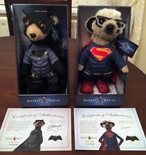 **82 SOLD** BNIB Superman & Batman Meerkat / Meercat Toy Compare the Market