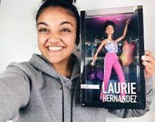 Barbie Laurie Hernandez Gymnast Doll 2018  NIB/ Muneca I got this book La gimnas