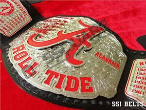Alabama Crimson Roll Tide Championship Belt, University Belt.