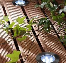 Brevus White LED Outdoor Deck Light 1w