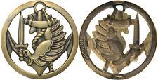 CAMEROUN,insigne de béret commando parachutiste,finition bronze,LR Paris (1463)