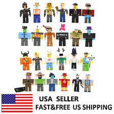Roblox Legends Champions Classic Noob Captain Action Figure Collection Toy 24PCS