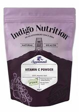 Vitamin C Powder - 500g - (Quality Assured) Indigo Herbs