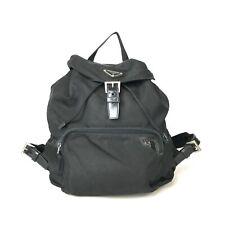 PRADA Luc nylon black one pocket B4650 Used 1025-10.b