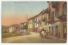 90400 antica cartolina SAN FEDELE VALLE INTELVI  PROVINCIA DI COMO CARRO BUOI