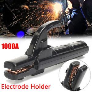 Crocodile Type Electrode /  Clamp Welding ARC Welder 1000A New