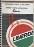 Laverda 650 Ghost (1996-1998) Genuine Parts List Book Catalogue Manual BY76