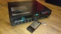 Sony SL-800 Betamax video recorder (99-264v) PAL/SECAM/NTSC with remote