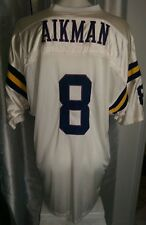 vtg Russell Athletic Legends Troy Aikman UCLA Stitched White Home jersey 56