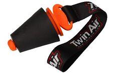 Twin Air Auspuffstopfen Auspuffstöpsel Silencer Plug orange/schw. groß 27 - 50mm