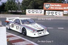 Gabbiani & Pirro Martini Racing Lancia Beta Monte Carlo Le Mans 1981 Photograph