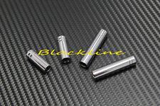 For Mercedes W204 W212 W163 GLK M C 63 E Class Chrome Round Door Lock Pins Knob