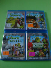 Shrek 1-4 in 3D