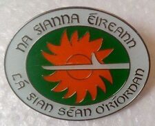 Irish Republican Clonard Falls Road Belfast Fian Sean O'Riordan Ltd Ed Pin Badge