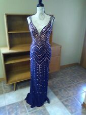 Ellie Wilde Mon Cheri Prom Dress size 8