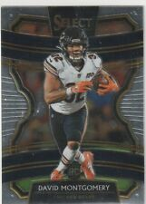 DAVID MONTGOMERY CONCOURSE LEVEL RC #27 CHICAGO BEARS 2019 SELECT