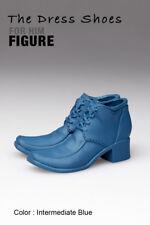 ks1003-06 Intermediate Blue Dress Short Boots Shoes (Plastic) for Homme