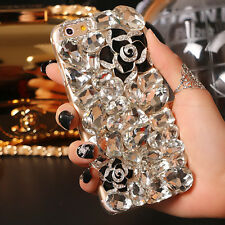 Luxury Bling Diamond Crystal Hard Case Cover For Apple iPhone 6S Plus 5S 6 6S SE