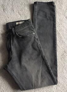 """M&S Mens Grey Slim Fit Jeans W30"""" L33"""""""