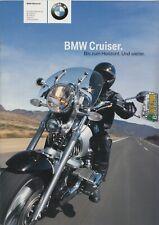 BMW Cruiser  Prospekt Brochure 07 -  2003  - 50 Seiten