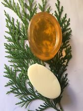 Honey And Argan Oil  Solid Shampoo Bar And Conditioner Bar In Biodegradable Wrap