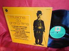 LONNIE BAXTER Musiche da grandi films Charlie Chaplinr OST LP 1976 ITALY MINT-