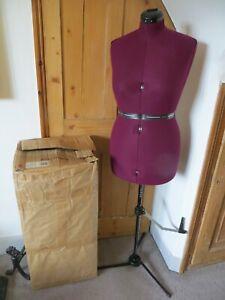 Supa-Fit Deluxe Adjustable Dressmakers Tailor Dummy Mannequin UK 16-20